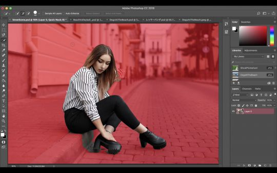 Outil Select Subject - Adobe Photoshop