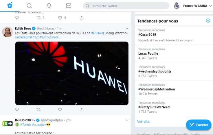 nouveau design twitter _ franck wamba